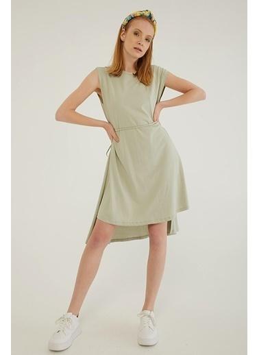Modaset Elbise Yeşil